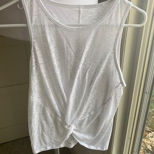 Burn out Front Knot Tank - Size 2